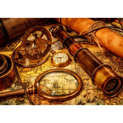 Puzzle  Grafika-T-00090 Vintage Travel