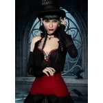 Puzzle  Grafika-T-00094 Gothic: Frau mit Rabe