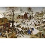 Puzzle  Grafika-T-00146 Brueghel Pieter: Volkszählung zu Bethlehem