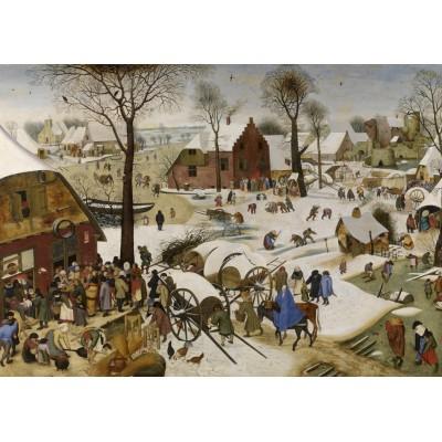 Puzzle  Grafika-T-00147 Brueghel Pieter: Volkszählung zu Bethlehem