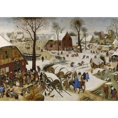Puzzle  Grafika-T-00148 Brueghel Pieter: Volkszählung zu Bethlehem