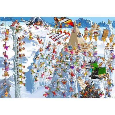 Puzzle  Grafika-T-00182 François Ruyer - Climbing