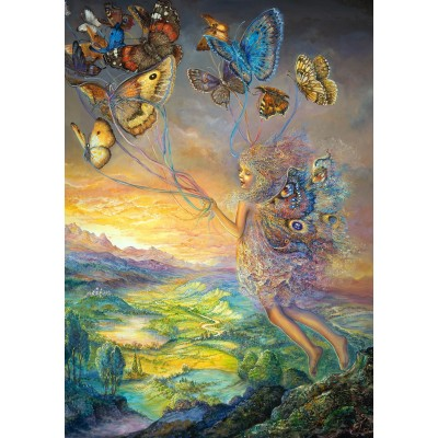 Puzzle  Grafika-T-00192 Josephine Wall - Up and Away