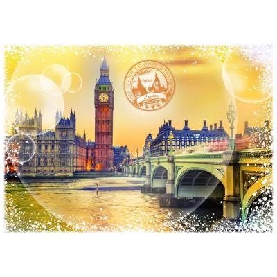 Puzzle Grafika-T-00197 Travel around the World - Großbritannien