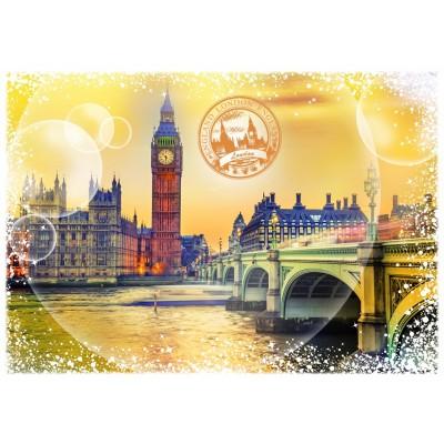 Puzzle Grafika-T-00198 Travel around the World - Großbritannien