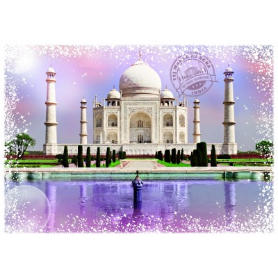 Puzzle  Grafika-T-00201 Travel around the World - Indien