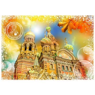 Puzzle  Grafika-T-00214 Travel around the World - Russland