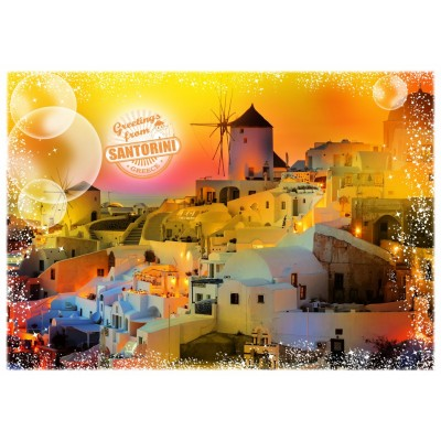 Puzzle  Grafika-T-00219 Travel around the World - Griechenland