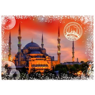 Puzzle Grafika-T-00234 Travel around the World - Türkei
