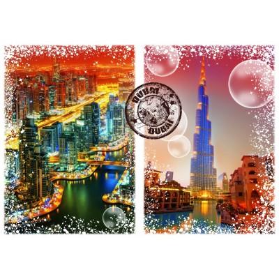 Puzzle  Grafika-T-00237 Travel around the World - Dubai