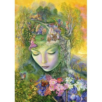 Puzzle Grafika-T-00249 Josephine Wall - Head Gardener