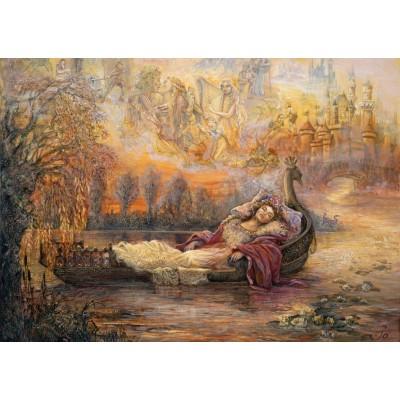 Puzzle  Grafika-T-00262 Josephine Wall - Dreams of Camelot