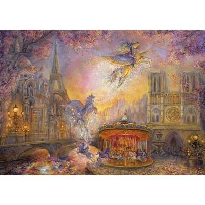 Puzzle Grafika-T-00279 Josephine Wall - Magical Merry Go Round