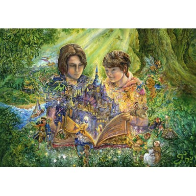 Puzzle Grafika-T-00284 Josephine Wall - Magical Storybook