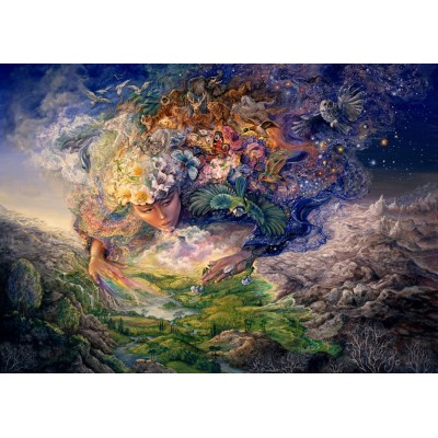 Puzzle  Grafika-T-00296 Josephine Wall - Breath of Gaia