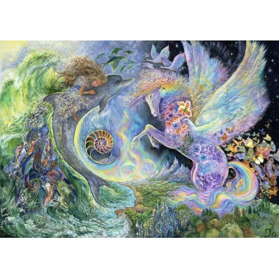 Puzzle  Grafika-T-00302 Josephine Wall - Magical Meeting
