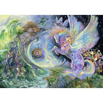 Puzzle Grafika-T-00304 Josephine Wall - Magical Meeting