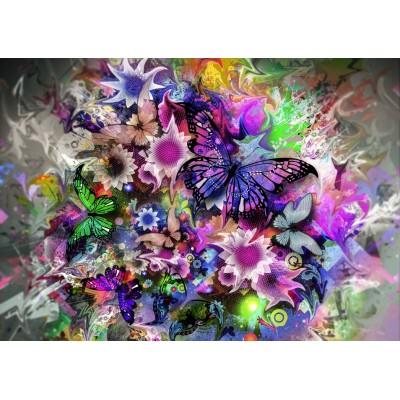 Puzzle  Grafika-T-00313 Schmetterlinge