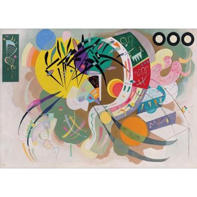 Puzzle Grafika-T-00325 Wassily Kandinsky - Dominant Curve, 1936