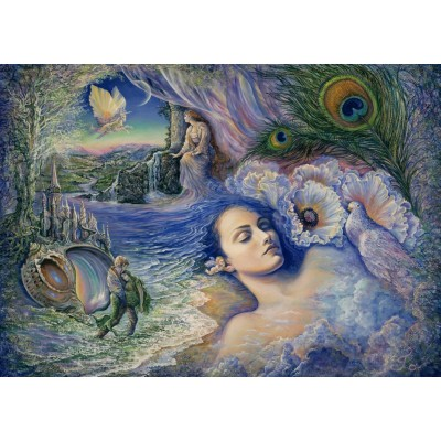 Puzzle Grafika-T-00354 Josephine Wall - Whispered Dreams