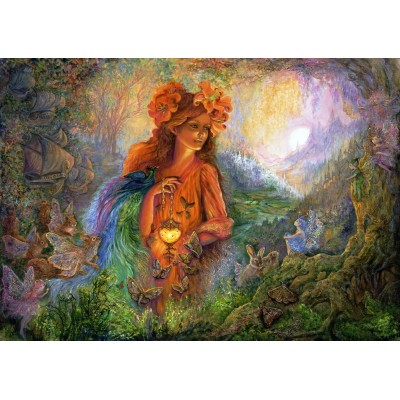 Puzzle Grafika-T-00367 Josephine Wall - Lighting the Way