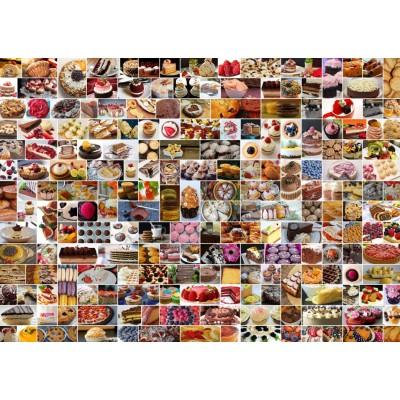 Puzzle  Grafika-T-00372 Collage - Kuchen