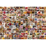 Puzzle  Grafika-T-00373 Collage - Kuchen