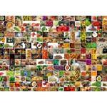Puzzle  Grafika-T-00376 Collage - Küche in Farbe