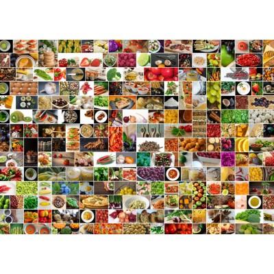 Puzzle  Grafika-T-00377 Küche in Farbe