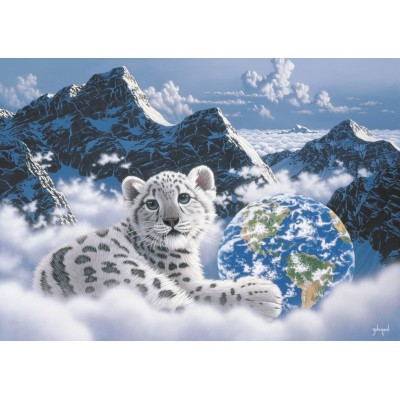 Puzzle  Grafika-T-00387 Schim Schimmel - Bed of Clouds