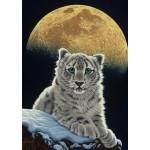 Puzzle  Grafika-T-00412 Schim Schimmel - Moon Leopard