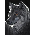 Puzzle  Grafika-T-00436 Schim Schimmel - Night Wolf