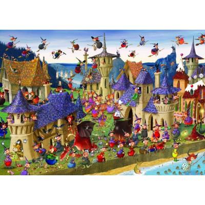 Puzzle Grafika-T-00491 François Ruyer - Hexen