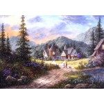Puzzle  Grafika-T-00499 Dennis Lewan - Hills Of Bavaria