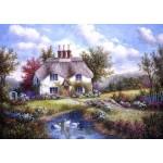 Puzzle  Grafika-T-00501 Dennis Lewan - Swan Creek Cottage