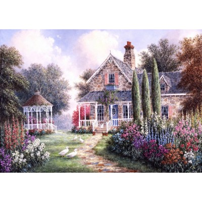 Puzzle  Grafika-T-00505 Dennis Lewan - Elmira's Cottage