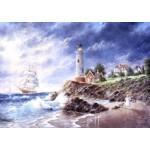Puzzle  Grafika-T-00512 Dennis Lewan - Anchor Cove