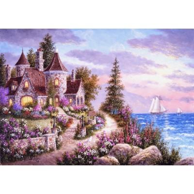 Puzzle Grafika-T-00515 Dennis Lewan - Belle d'Amour