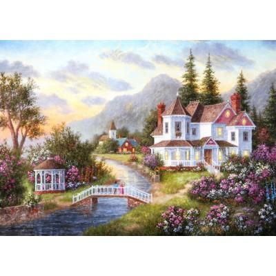 Puzzle Grafika-T-00517 Dennis Lewan - Angels of the Evening
