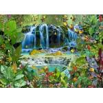 Puzzle  Grafika-T-00526 François Ruyer - Wasserfall
