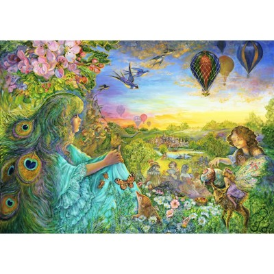Puzzle Grafika-T-00530 Josephine Wall - Daydreaming