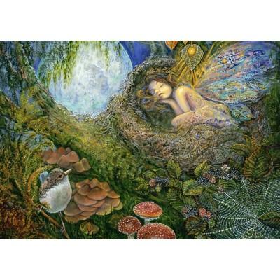 Puzzle Grafika-T-00535 Josephine Wall - Fairy Nest