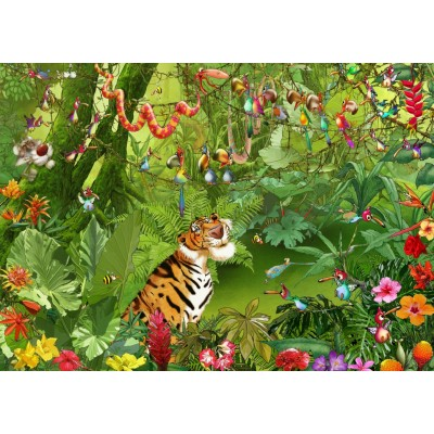 Puzzle  Grafika-T-00547 François Ruyer - Jungle