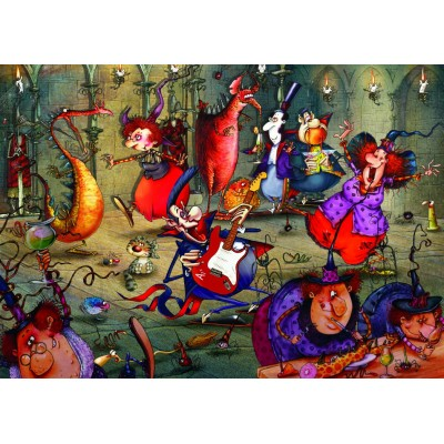 Puzzle  Grafika-T-00553 François Ruyer - Das Hexenfest