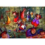 Puzzle  Grafika-T-00555 François Ruyer - Das Hexenfest