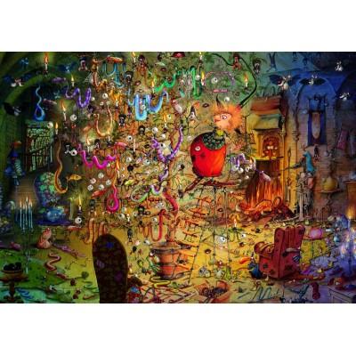 Puzzle  Grafika-T-00561 François Ruyer - Hexe