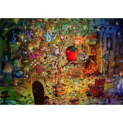 Puzzle Grafika-T-00562 François Ruyer - Hexe