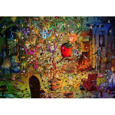 Puzzle Grafika-T-00564 François Ruyer - Hexe