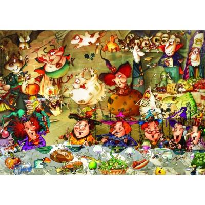 Puzzle  Grafika-T-00574 François Ruyer - Hexen