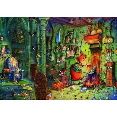 Puzzle  Grafika-T-00581 François Ruyer - In der Küche!